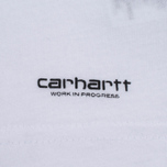 Комплект мужских футболок Carhartt WIP Standart Crew Neck White/Grey Heather фото- 8
