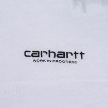 Комплект мужских футболок Carhartt WIP Standart Crew Neck White/Grey Heather фото- 8