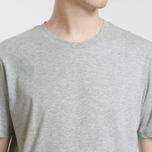 Комплект мужских футболок Carhartt WIP Standart Crew Neck White/Grey Heather фото- 10