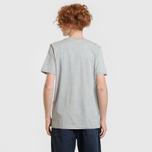 Комплект мужских футболок Carhartt WIP Standart Crew Neck White/Grey Heather фото- 11