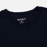 Комплект мужских футболок Carhartt WIP Standart Crew Neck White/Navy фото- 2