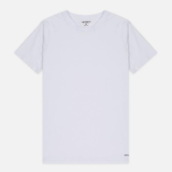 Комплект мужских футболок Carhartt WIP Standart Crew Neck White/Navy
