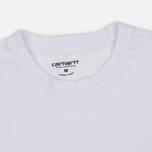 Комплект мужских футболок Carhartt WIP Standart Crew Neck White/Navy фото- 6