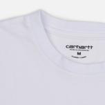 Комплект мужских футболок Carhartt WIP Standart Crew Neck White/Navy фото- 5
