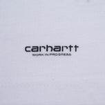 Комплект мужских футболок Carhartt WIP Standart Crew Neck White/Navy фото- 7
