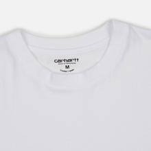 Комплект мужских футболок Carhartt WIP Standart Crew Neck White/White фото- 2