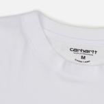 Комплект мужских футболок Carhartt WIP Standart Crew Neck White/White фото- 4