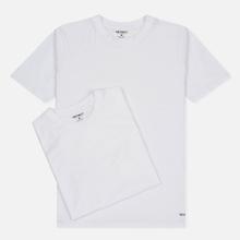 Комплект мужских футболок Carhartt WIP Standart Crew Neck White/White фото- 0