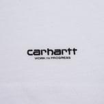 Комплект мужских футболок Carhartt WIP Standart Crew Neck White/White фото- 3