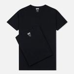 Комплект мужских футболок Edwin Double Pack SS Black фото- 0