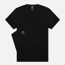 Комплект мужских футболок Edwin Double Pack SS Tubular Black Envelop