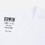 Комплект мужских футболок Edwin Double Pack SS White фото- 3