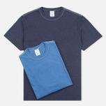 Комплект мужских футболок Garbstore 60/40 Pack Blue/Purple фото- 0