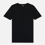 Комплект мужских футболок Lacoste Underwear 3-Pack Classic Fit Crew Neck Black фото- 1