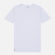 Комплект мужских футболок Lacoste Underwear 3-Pack Classic Fit Crew Neck Black/Grey/White фото- 3