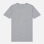 Комплект мужских футболок Lacoste Underwear 3-Pack Classic Fit Crew Neck Black/Grey/White фото- 2