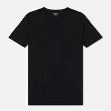 Комплект мужских футболок Lacoste Underwear 3-Pack Classic Fit Crew Neck Black/Grey/White фото- 1