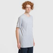 Комплект мужских футболок Lacoste Underwear 3-Pack Classic Fit Crew Neck Black/Grey/White фото- 6
