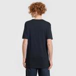 Комплект мужских футболок Lacoste Underwear 3-Pack Classic Fit Crew Neck Black/Grey/White фото- 5