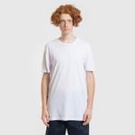 Комплект мужских футболок Lacoste Underwear 3-Pack Classic Fit Crew Neck Black/Grey/White фото- 7
