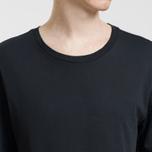 Комплект мужских футболок Lacoste Underwear 3-Pack Classic Fit Crew Neck Black фото- 5
