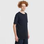 Комплект мужских футболок Lacoste Underwear 3-Pack Classic Fit Crew Neck Black фото- 3