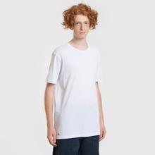 Комплект мужских футболок Lacoste Underwear 3-Pack Classic Fit Crew Neck White фото- 3