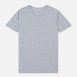 Комплект мужских футболок Lacoste Underwear 3-Pack Crew Neck Black/Grey/White фото- 1