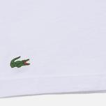 Комплект мужских футболок Lacoste Underwear 3-Pack V-Neck White/White/White фото- 3