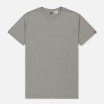 Комплект мужских футболок Levi's 2 Pack Heather Grey/White фото- 4