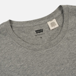 Комплект мужских футболок Levi's 2 Pack Heather Grey/White фото- 5