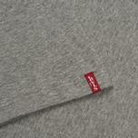 Комплект мужских футболок Levi's 2 Pack Heather Grey/White фото- 6
