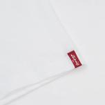 Комплект мужских футболок Levi's 2 Pack Heather Grey/White фото- 3