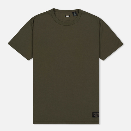 Levi's Skateboarding 2 Pack Men's T-Shirts Double Pack Camo Print/Ivy Green