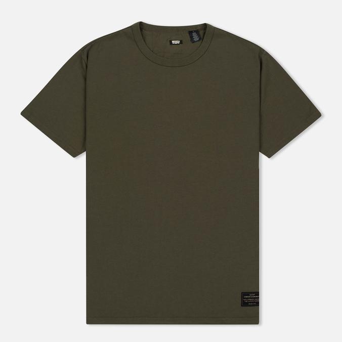 Комплект мужских футболок Levi's Skateboarding 2 Pack Camo Print/Ivy Green