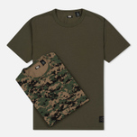 Комплект мужских футболок Levi's Skateboarding 2 Pack Camo Print/Ivy Green фото- 6