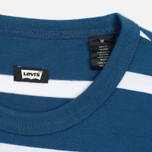 Комплект мужских футболок Levi's Skateboarding 2 Pack Grey/Lotus Blue Stripe фото- 3