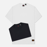 Levi's Skateboarding 2 Pack Men's T-shirt White/Jet Black photo- 1