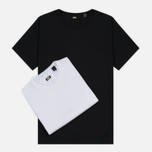 Комплект мужских футболок Levi's Skateboarding 2 Pack White/Jet Black фото- 0