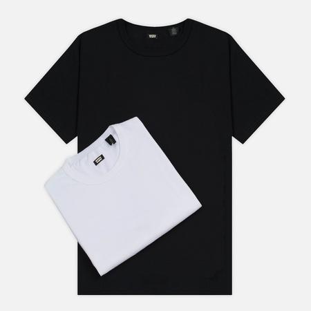 Комплект мужских футболок Levi's Skateboarding 2 Pack White/Jet Black