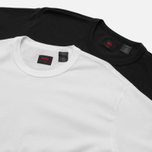 Levi's Skateboarding 2 Pack Men's T-shirt White/Jet Black photo- 2