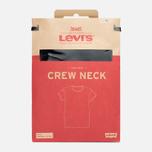 Levi's 2 Pack Crew Neck Men's T-shirt Black photo- 4