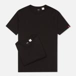 Levi's 2 Pack Crew Neck Men's T-shirt Black photo- 0