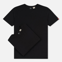 Комплект мужских футболок Levi's 2 Pack Black/Black фото- 0