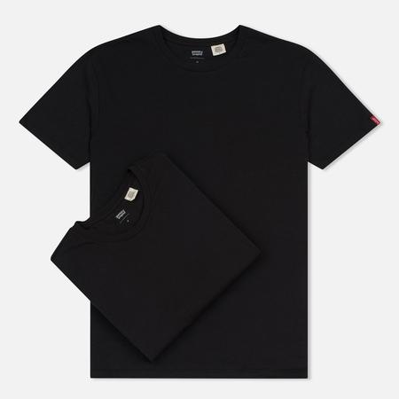Комплект мужских футболок Levi's 2 Pack Black/Black