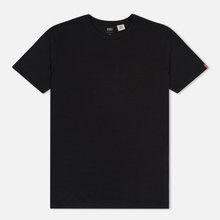 Комплект мужских футболок Levi's 2 Pack Black/Black фото- 1