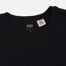 Комплект мужских футболок Levi's 2 Pack Black/Black фото- 2