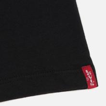Комплект мужских футболок Levi's 2 Pack Black/Black фото- 3