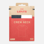 Levi's 2 Pack Crew Neck Men's T-shirt Navy/White photo- 4