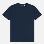 Комплект мужских футболок Levi's 2 Pack Navy/White фото- 4